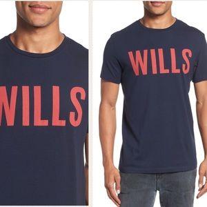 JACK WILLS - Wentworth 'JACK' graphic t shirt, M